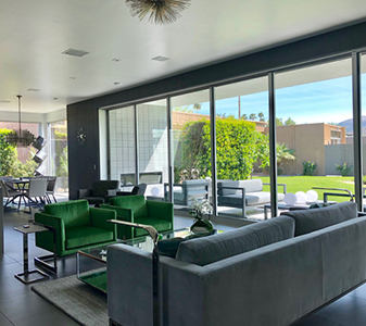 Project by Modern Home Design Showroom in Palm Springs, California